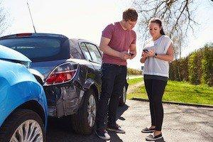 Smartphone after a car accident, Westport Personal Injury Lawyer